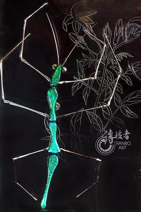 2015年臺灣工藝競賽「美術工藝組」入選作品:永恆DNA(竹節蟲)