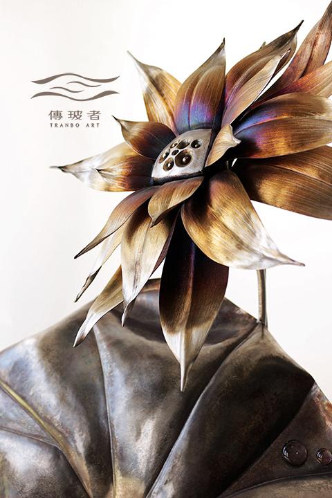(局部)2018年臺灣工藝競賽「美術工藝組」佳作作品:夏宴