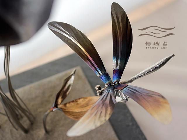 (蜻蜓特寫)2018年臺灣工藝競賽「美術工藝組」佳作作品:夏宴