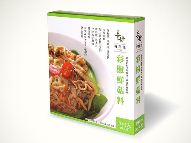 辛甘好料理-彩椒鮮菇料-3包入裝不含麵