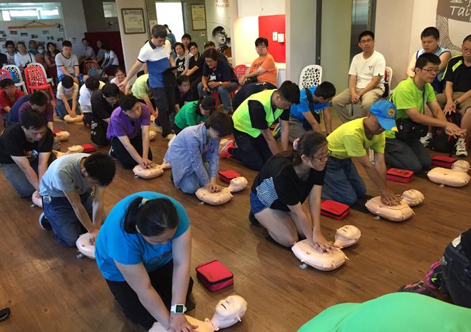 107年7月14日急救AED+CPR訓練課程