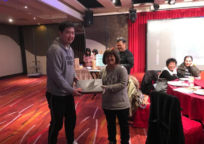 勝利尾牙-雅悅會館松山館1080126