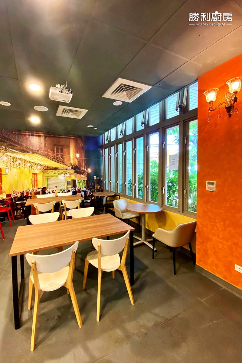 勝利廚房實體餐廳-室內實景