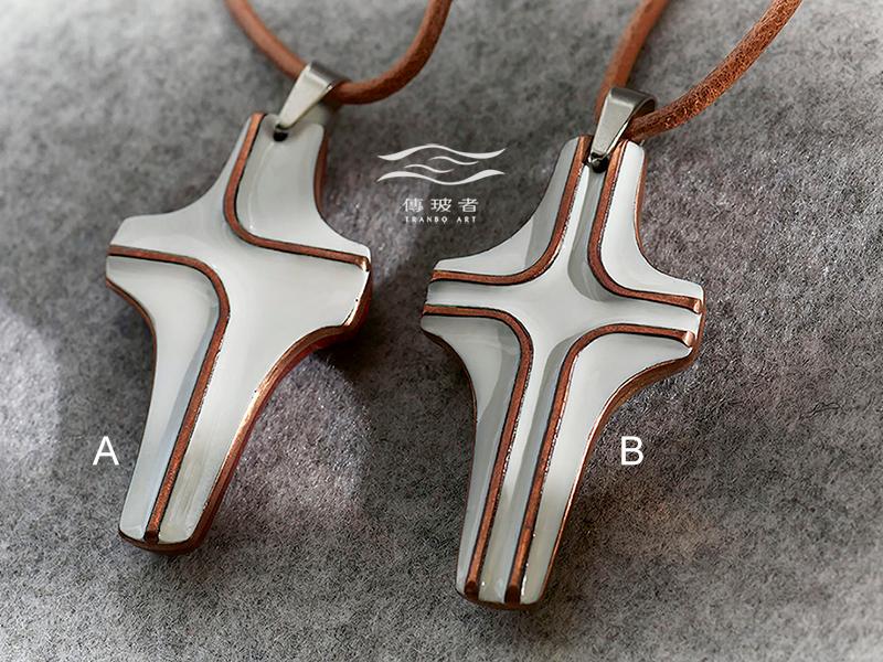 傳玻者-愛的信息1-十字架項鍊-基督教福音禮品-在Pinkoi展售