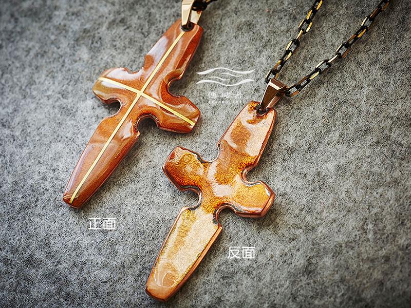 傳玻者-愛的信息3-十字架項鍊-基督教福音禮品-在Pinkoi展售